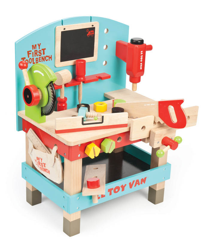 Le Toy Van-Kids Wooden Toys-My First Tool Bench