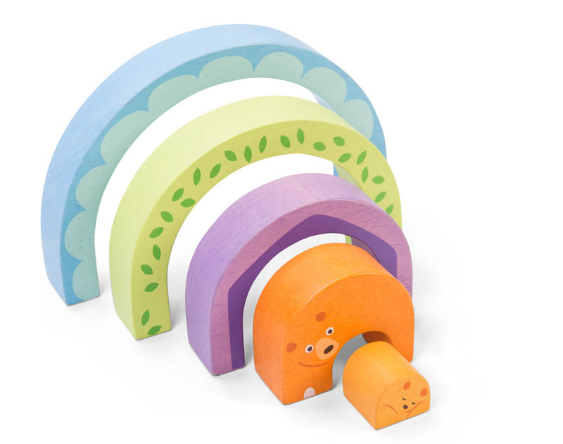 Le Toy Van  - Petilou Tunnel Puzzle - Mamma Bear