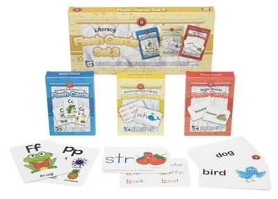 Literacy Flash Cards Set of 3