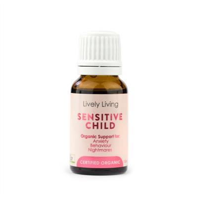 Lively Living 100% Certified Organic Essential Oil Sensitive Child
