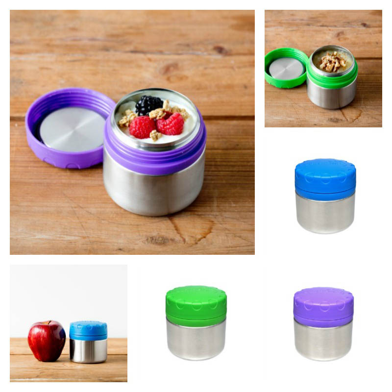LunchBots Round Single 235ml Container