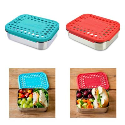 LunchBots Stainless Steel Lunch Box New Trio Dots