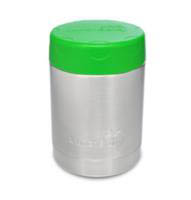 LunchBots Thermal Stainless Steel Insulated Food Jar-350ml-Green