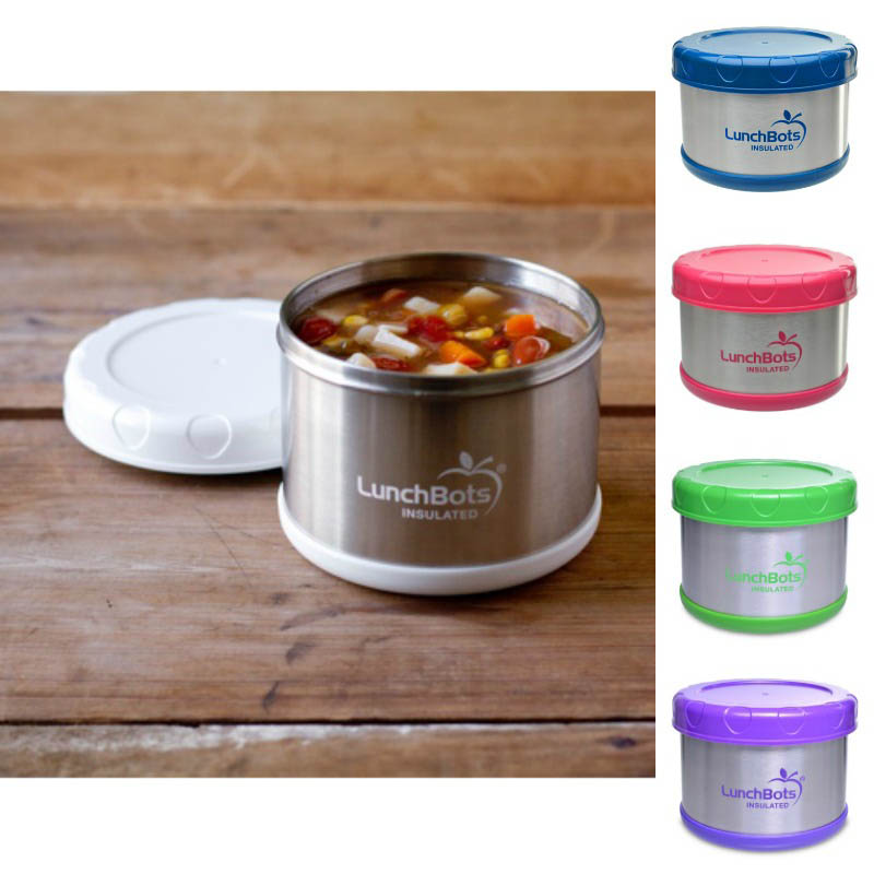 LunchBots Thermal Stainless Steel Insulated Food Jar - 500ml/16oz