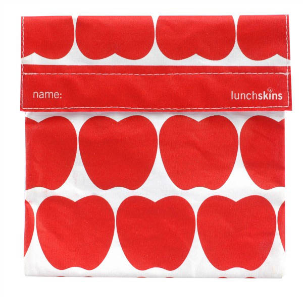 LunchSkins Reusable Sandwich Bag- Red Apple