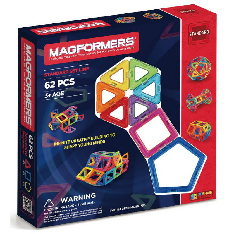 Magformers - Basic 62pcs Set