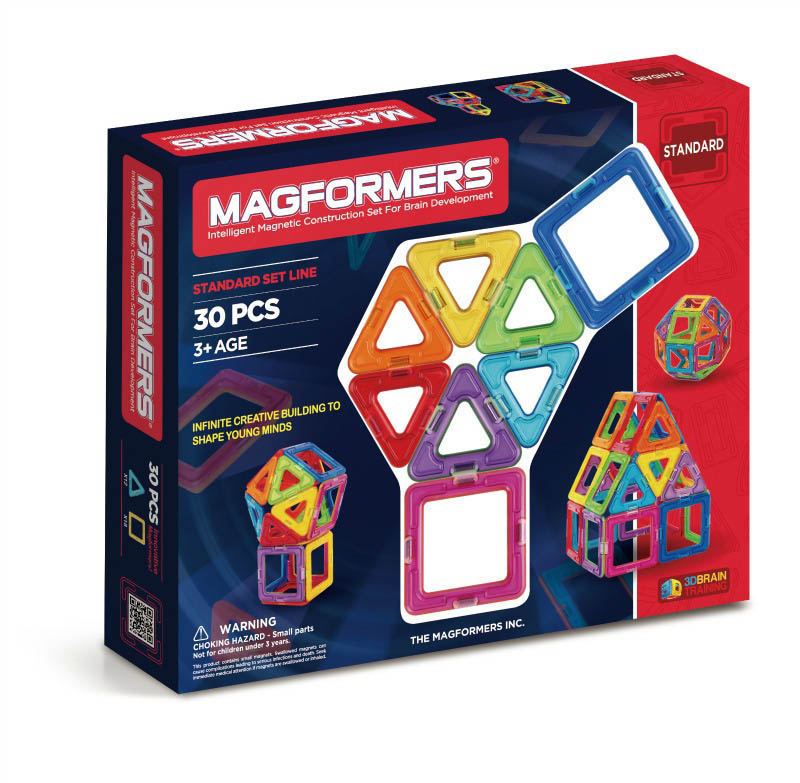 Magformers - Basic 30 pcs Set