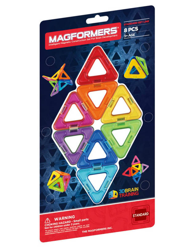 Magformers - Triangles 8pcs Set