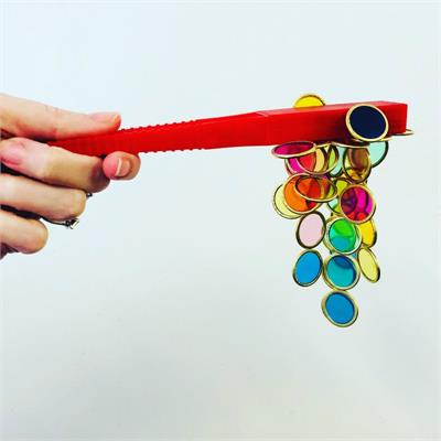 Magnetic Wand and Counting Chips