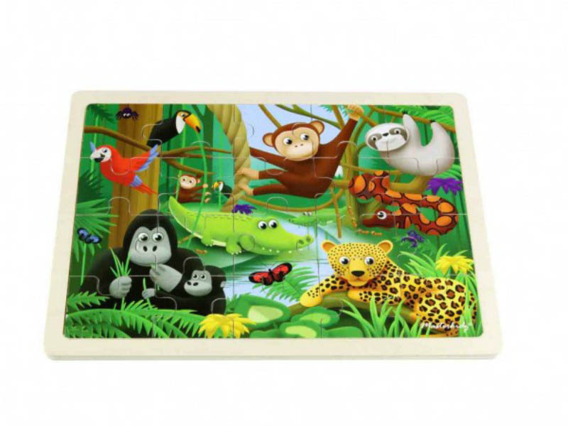 Masterkidz - Jigsaw Puzzle-Rainforest (20pcs)
