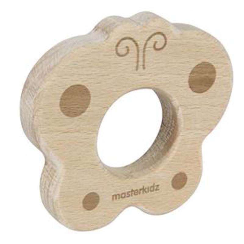 Masterkidz Wooden Teether Butterfly