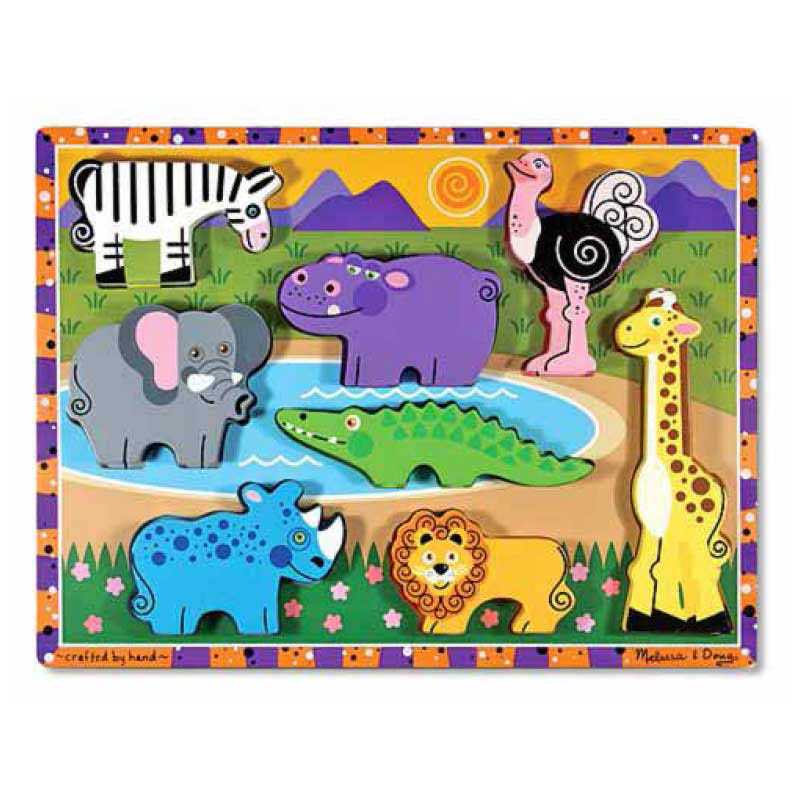 Melissa And Doug Safari Puzzle