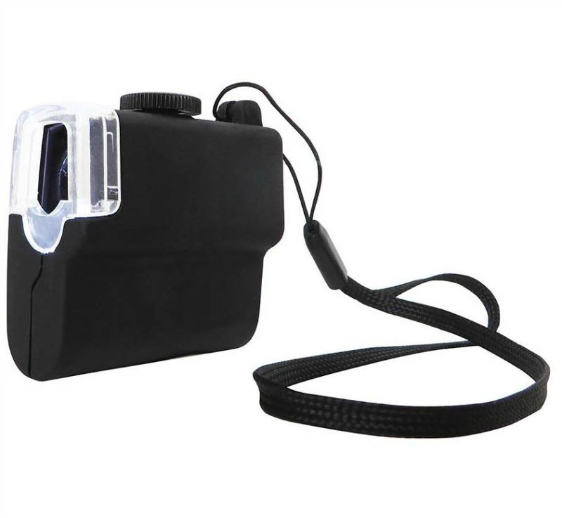 Mini Magnifier with LED Light