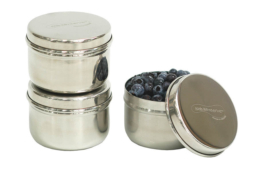 Kids Konserve Mini Stainless Steel Food Containers - Set of 3