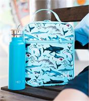 MontiiCo Insulated Lunch Bag and Ice Pack Shark