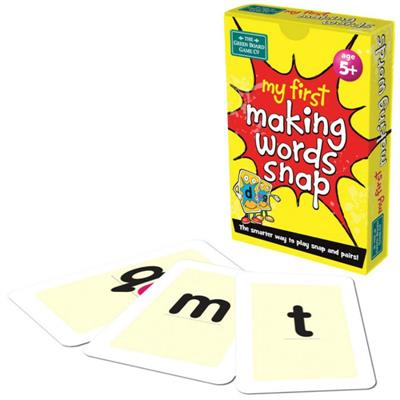 My 1st Making Words Snap Cards
