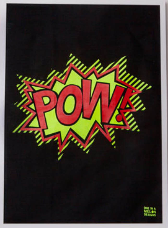 One in a Melon-Wall Art-POW Linen Print