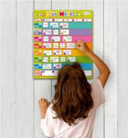 Our Week - Family Magnetic Organiser Chart