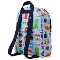 Penny Scallan Canvas Rucksack Backpack - Big City