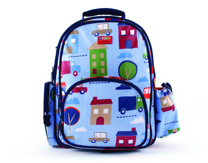 Penny Scallan-Kids Backpack-Large Backpack {Big City}