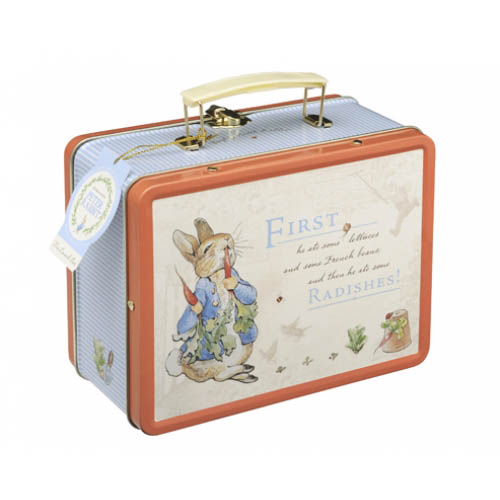 Peter Rabbit Tin Lunch Box