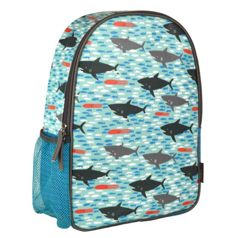 Petit Collage-Eco Friendly-Backpack (Sharks)