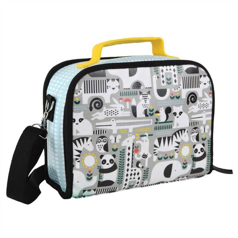Petit Collage-Eco Friendly-insulated-Lunchbox-Animals