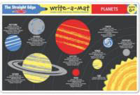 Planets Learning Mat side 1