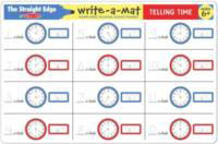 Telling Time Learning Mat side 1