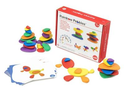 Rainbow Pebbles Set