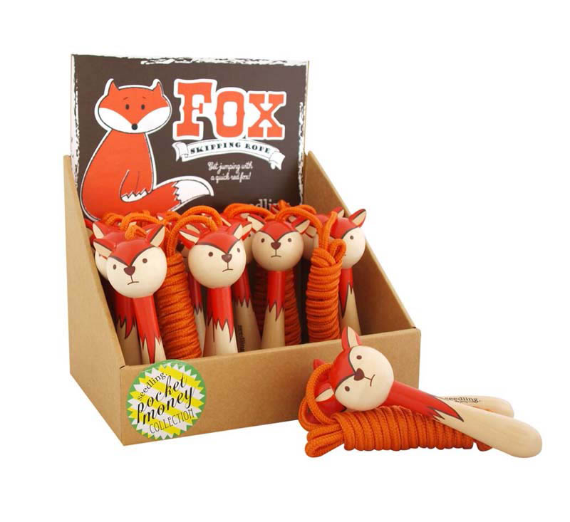 Seedling Fox Skipping Rope