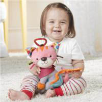 Bandana Buddies Stroller Toy {Kitty}