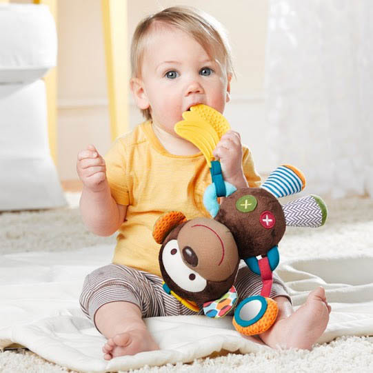 Bandana Buddies Stroller Toy {Monkey}