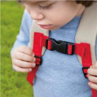 Chest straps for added safety
