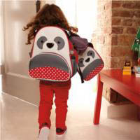 Skip Hop Zoo Panda backpack and Lunch Bag