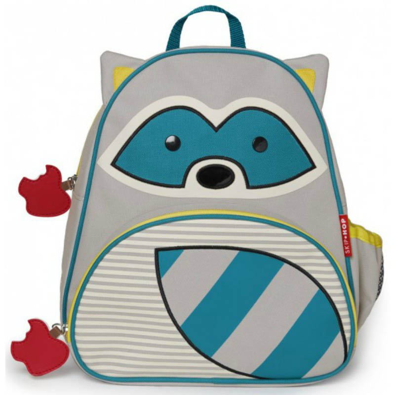 Skip Hop Zoo-Kids Backpacks-Raccoon Backpack