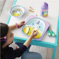 Melamine Set {Unicorn}
