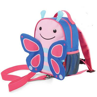 Skip Hop Zoo Butterfly Mini Backpack with Safety Harness