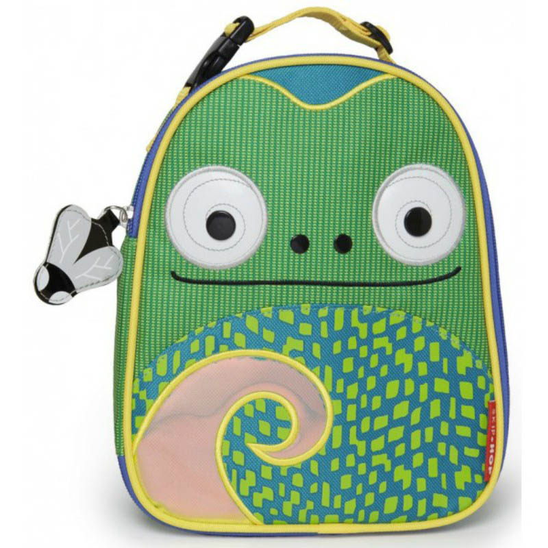 Skip Hop Zoo Lunchies-Kids Lunch Bag-Chameleon