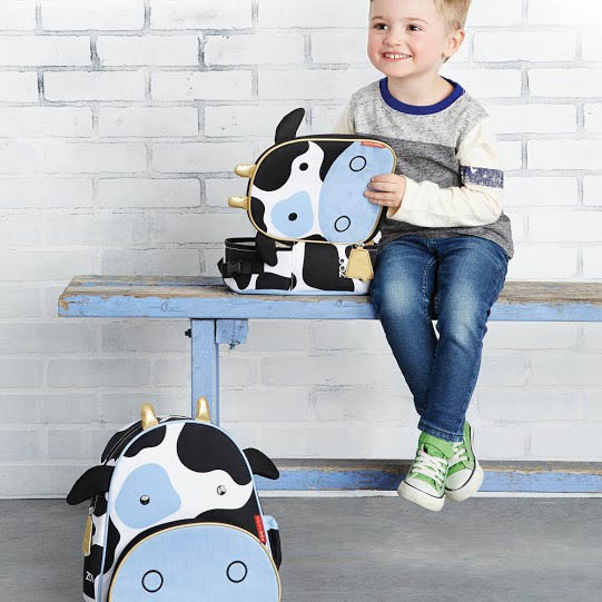 Kids Lunch Bag-Cow