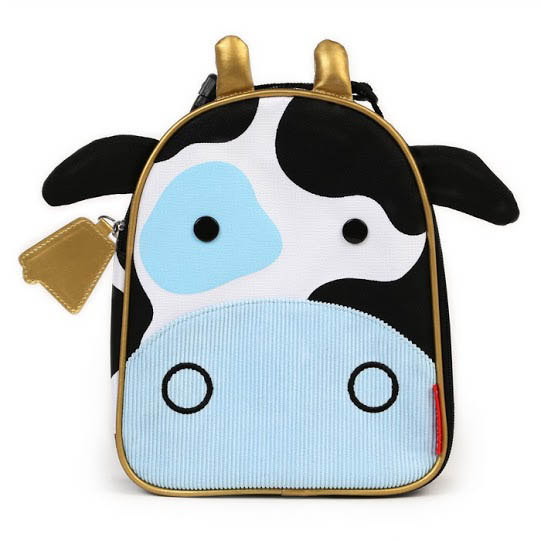 Skip Hop Zoo Lunchies-Kids Lunch Bag-Cow