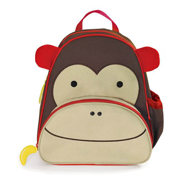 Skip Hop Zoo Pack-Kids Backpack-Monkey