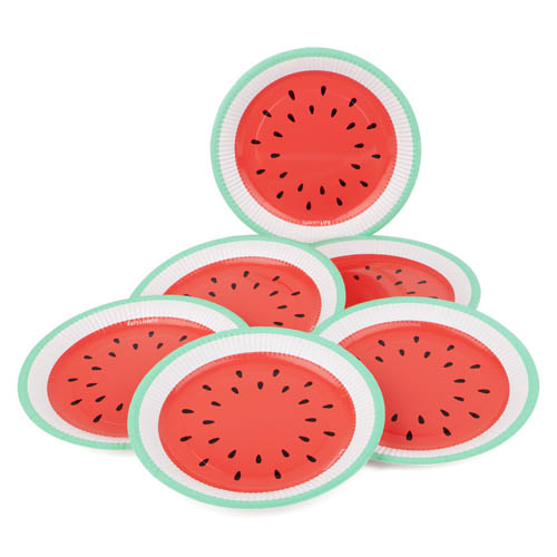 Sunny Life Paper Napkins set of 12 - Watermelon