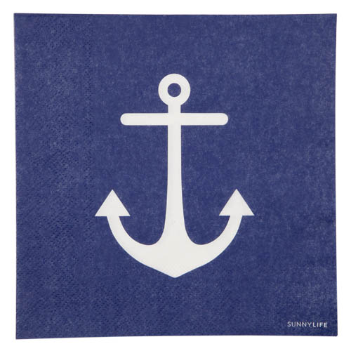 Sunny Life  Paper Napkins set of 20 - Anchor