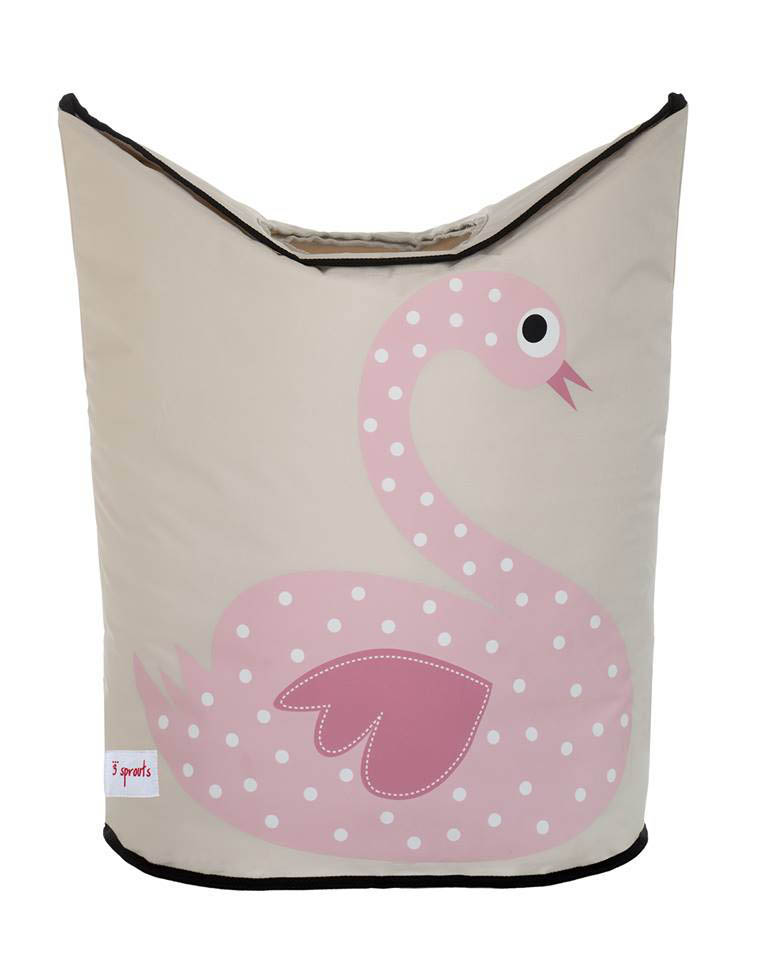 3 Sprouts- Storage Solutions-Swan Laundry Hamper