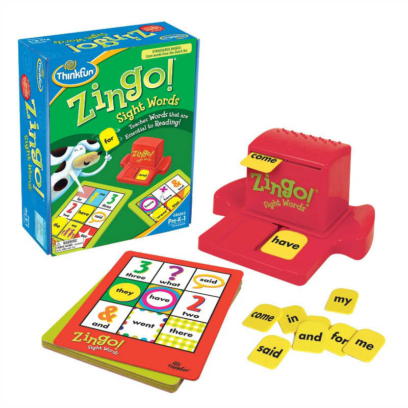 ThinkFun Zingo! Sight Words Game