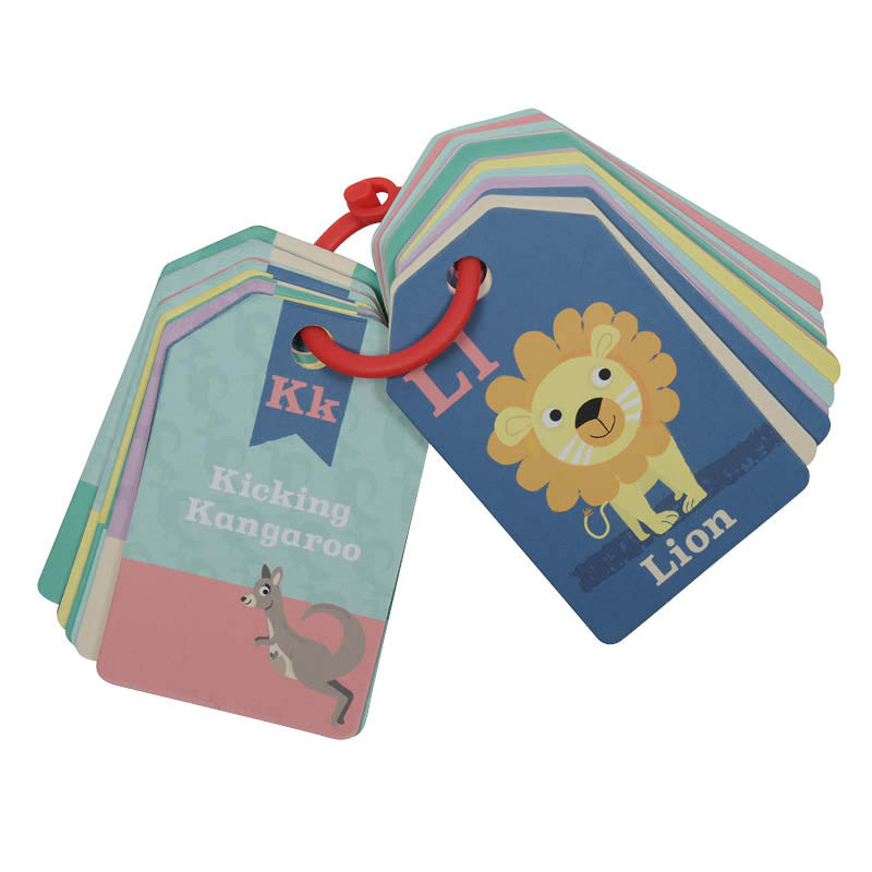 Tiger Tribe ABC Flash Cards - Animals