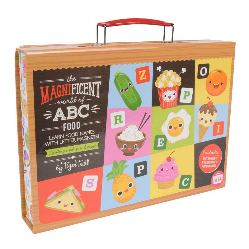 Tiger Tribe-Magnetic Toys-Magnificent World of ABC {Food}