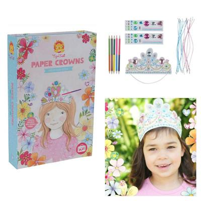Tiger Tribe Paper Crown Set