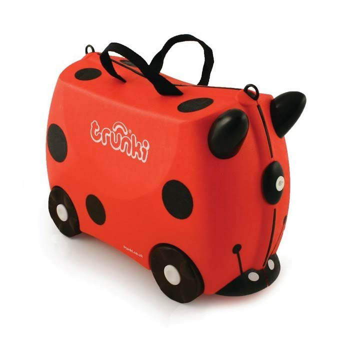 Trunki Kids Suitcase - Harley Lady Bug